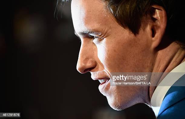 Actor Eddie Redmayne attends the BAFTA Los Angeles Tea Party at The Four Seasons Hotel Los Angeles At Beverly Hills on January 10, 2015 in Beverly...