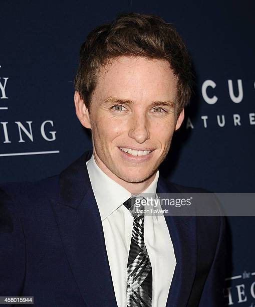 Actor Eddie Redmayne attends the premiere of The Theory of Everything at AMPAS Samuel Goldwyn Theater on October 28 2014 in Beverly Hills California