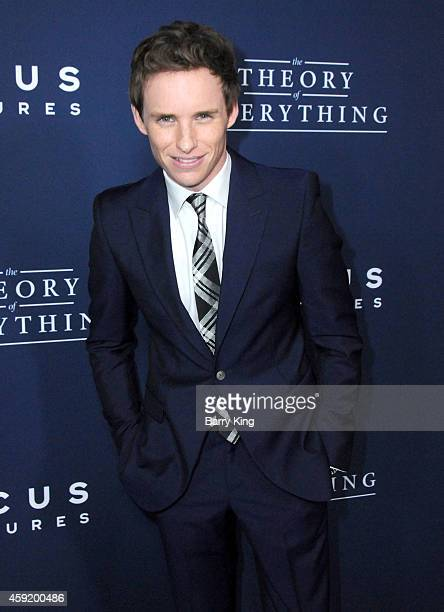 Actor Eddie Redmayne attends the premiere of 'The Theory of Everything' at AMPAS Samuel Goldwyn Theater on October 28 2014 in Beverly Hills California