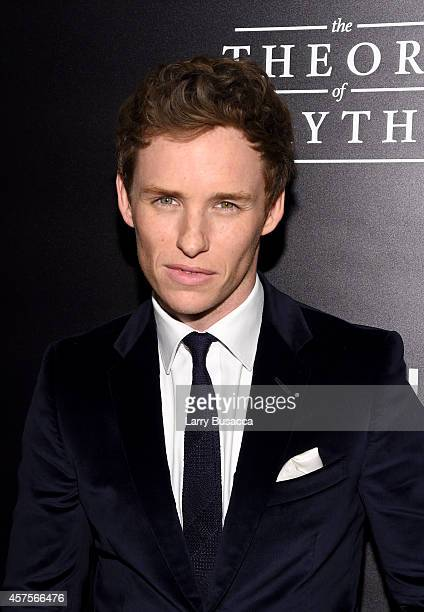 """Actor Eddie Redmayne attends """"The Theory Of Everything"""" New York Premiere at Museum of Modern Art on October 20, 2014 in New York City."""
