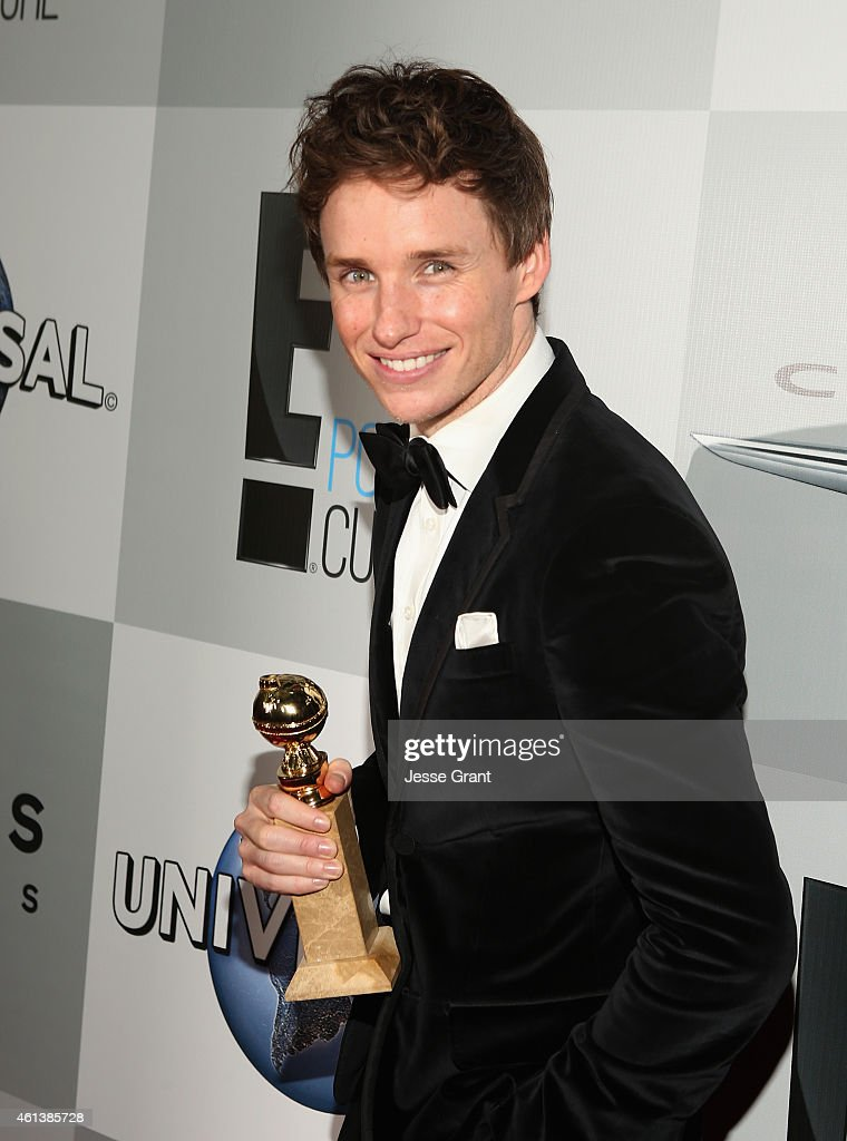 Actor Eddie Redmayne attends Universal, NBC, Focus Features and E! Entertainment 2015 Golden Globe Awards After Party sponsored by Chrysler and Hilton at The Beverly Hilton Hotel on January 11, 2015 in Beverly Hills, California.