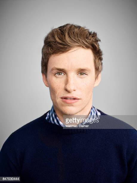 Actor Eddie Redmayne from 'Fantastic Beasts and Where To Find Them' is photographed for Entertainment Weekly Magazine on July 23 2016 at Comic Con in...