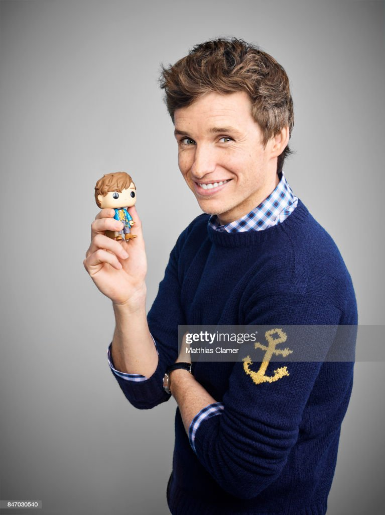 Actor Eddie Redmayne from 'Fantastic Beasts and Where To Find Them' is photographed for Entertainment Weekly Magazine on July 23, 2016 at Comic Con in the Hard Rock Hotel in San Diego, California.
