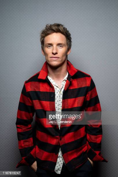 Actor Eddie Redmayne from 'The Aeronauts' is photographed for Los Angeles Times on September 8, 2019 at the Toronto International Film Festival in...