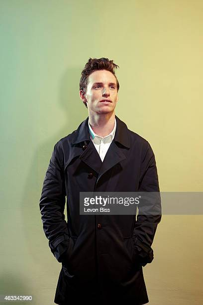 Actor Eddie Redmayne is photographed for GQ magazine on September 4 2011 in London England