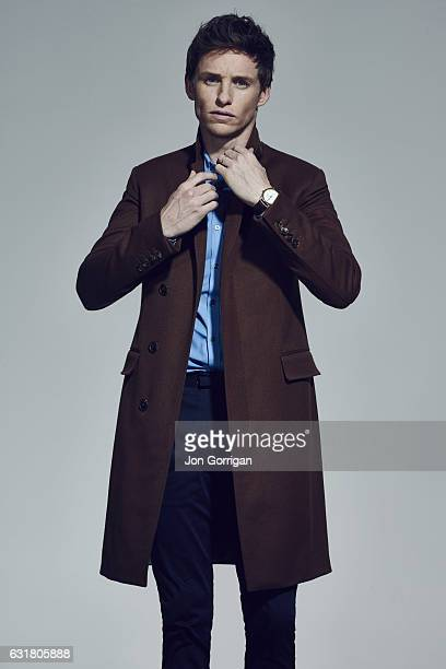 Actor Eddie Redmayne is photographed for the Telegraph magazine on November 28 2015 in London England