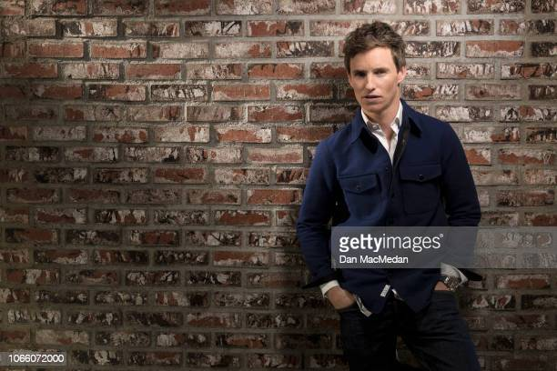 Actor Eddie Redmayne is photographed for USA Today on November 2 2018 in West Hollywood California