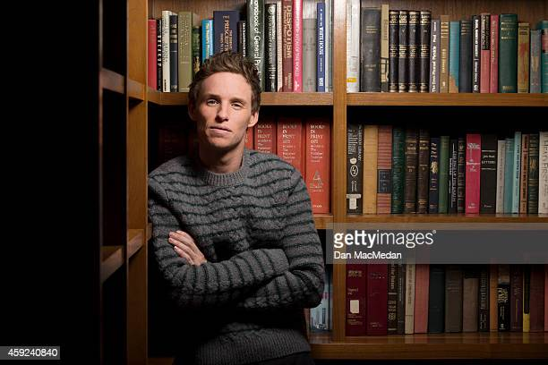 Actor Eddie Redmayne is photographed for USA Today on October 31 2014 in Los Angeles California