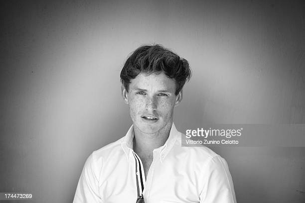 Actor Eddie Redmayne poses for a portrait session at the 2013 Giffoni Film Festival on July 26 2013 in Giffoni Valle Piana Italy