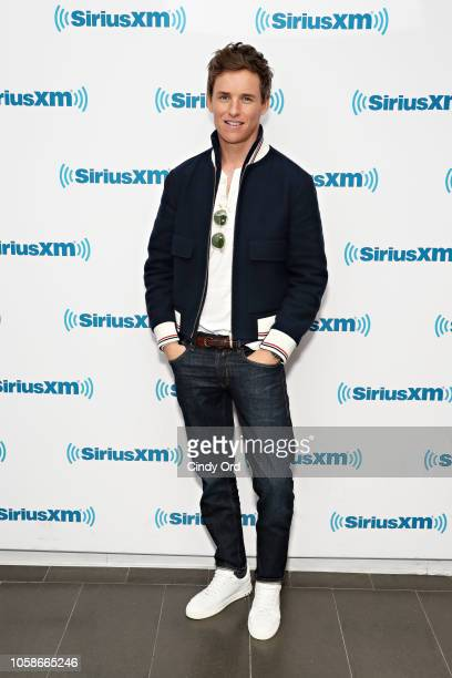 Actor Eddie Redmayne takes part in SiriusXM's Town Hall with the cast of Fantastic BeastsThe Crimes Of Grindelwald' on Entertainment Weekly Radio...