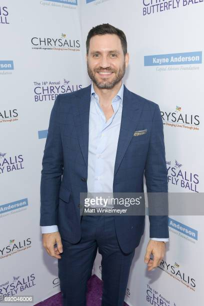 Actor Edgar Ramirez at the 16th Annual Chrysalis Butterfly Ball on June 3 2017 in Los Angeles California