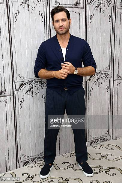 Actor Edgar Ramirez attends AOL Build presents to discuss his new movie 'Hands Of Stone' at AOL HQ on August 4 2016 in New York City