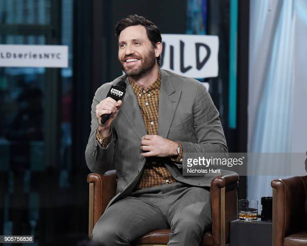 Actor Edgar Ramirez attends the Build Series to discuss 'The Assassination of Gianni Versace American Crime Story' at Build Studio on January 16 2018...