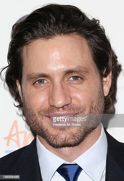 Actor Edgar Ramirez attends the Premiere Of 'American Masters Inventing David Geffen' at The Writers Guild of America on November 13 2012 in Beverly...
