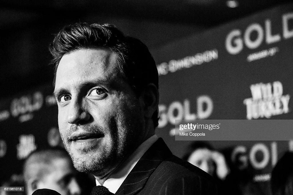 Actor Edgar Ramirez attends The World Premiere of 'Gold' attends the world premiere of 'Gold' hosted by TWC - Dimension with Popular Mechanics, The Palm Court & Wild Turkey Bourbon at AMC Loews Lincoln Square 13 theater at AMC Loews Lincoln Square 13 theater on January 17, 2017 in New York City.
