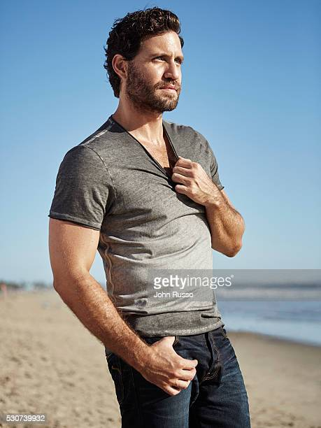 Actor Edgar Ramirez is photographed for Men's Health Latin America on October 1 2015 in Los Angeles California