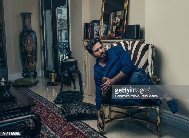 Actor Edgar Ramirez is photographed for Paris Match on March 2 2018 in Los Angeles California