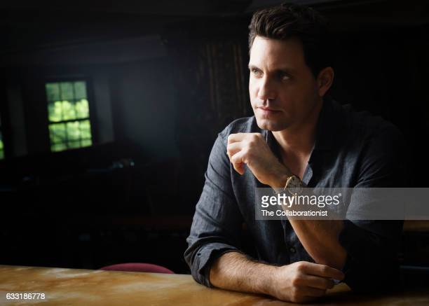 Actor Edgar Ramirez is photographed for The Hollywood Reporter on November 3 2016 in Los Angeles California PUBLISHED IMAGE