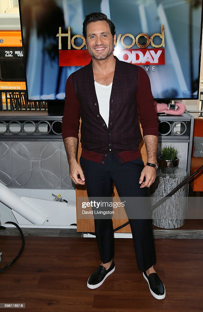 Actor Edgar Ramirez visits Hollywood Today Live at W Hollywood on August 31, 2016 in Hollywood, California.