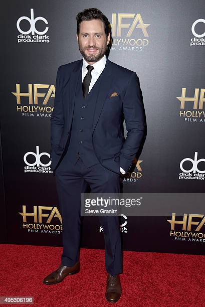 Actor Edgar Ramírez attends the 19th Annual Hollywood Film Awards at The Beverly Hilton Hotel on November 1 2015 in Beverly Hills California