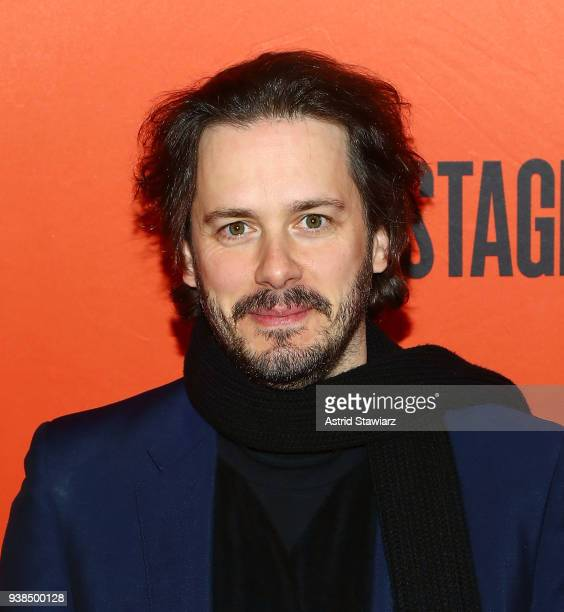 Actor Edgar Wright attends 'Lobby Hero' Broadway opening night at Hayes Theater on March 26 2018 in New York City