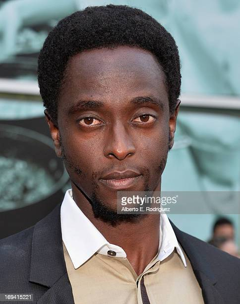 Actor Edi Gathegi attends a special screening of Summit Entertainment's Now You See Me at the ArcLight Theaters Hollywood on May 23 2013 in Hollywood...
