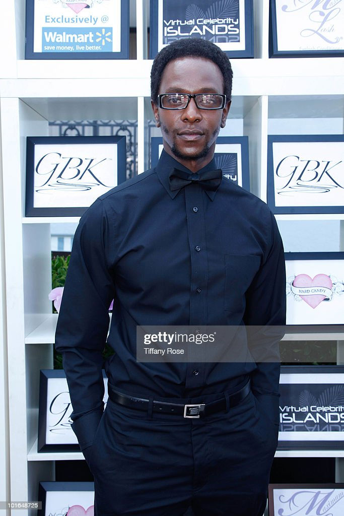 Actor Edi Gathegi attends GBK's Gift Lounge in Honor of the 2010 MTV Movie Awards - Day 1 at The London Hotel on June 4, 2010 in West Hollywood, California.