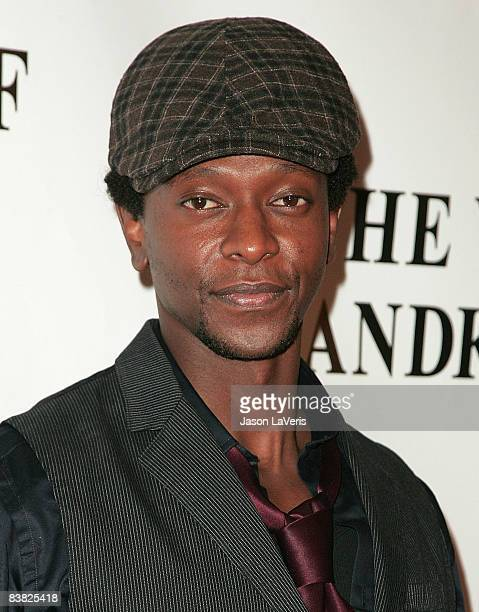 Actor Edi Gathegi attends the premiere of The Yellow Handkerchief at The WGA Theater on November 25 2008 in Beverly Hills California