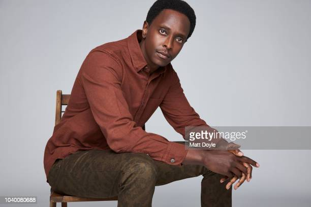 Actor Edi Gathegi of Sony Crackle's StartUp poses for a portrait during the 2018 Tribeca TV Festival on September 21 2018 in New York City