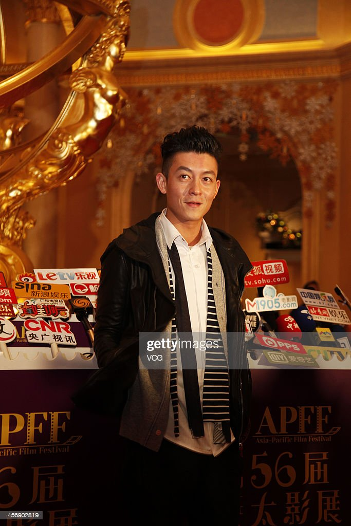 Actor Edison Chen arrives at The 56th Asia-Pacific Film Festival Awards Presentation Ceremony Red Carpet at The Venetian Macao on December 15, 2013 in Macau, Macau.