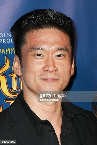 Actor Edison Chen arrives at the Opening Night of The Lincoln Center Theater's Production Of Rodgers and Hammerstein's The King and I at the Pantages...