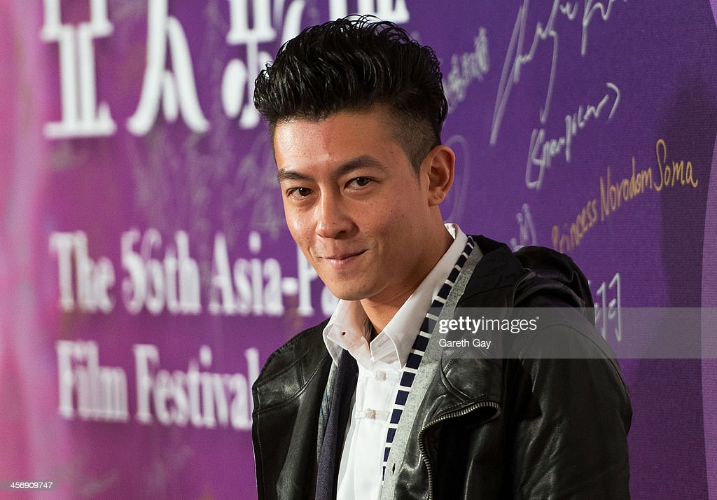 Actor Edison Chen attends the Awards Ceremony during the last day of the 56th Asia Pacific Film Festival at The Venetian Hotel and Casino on December 15, 2013 in Macao, China.