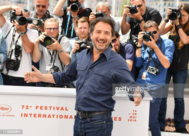Actor Edouard Baer attends the Master of Ceremonies photocall during the 72nd annual Cannes Film Festival on May 14 2019 in Cannes France