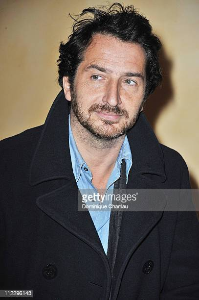 Actor Edouard Baer poses at the photocall for 'Mon Pote' at Hotel Renoir during the Festival of Sarlat on November 11, 2010 in Bergerac, France.