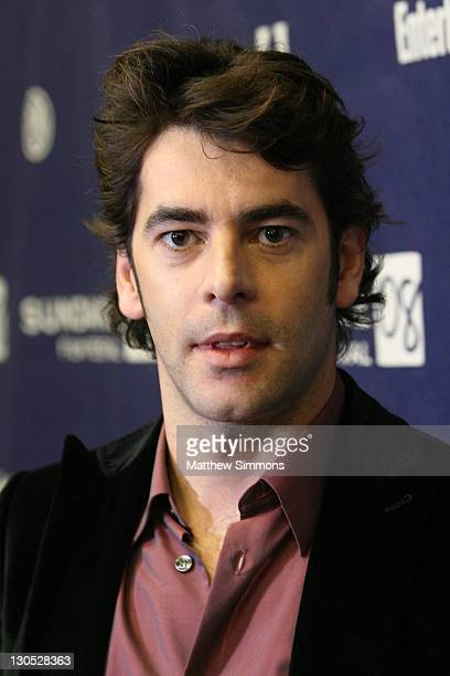 Actor Eduardo Noriega attends the Transsiberian premiere during the 2008 Sundance Film Festival at the Eccles Theatre on January 18 2008 in Park City...