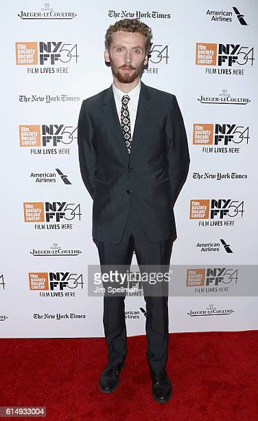 """Actor Edward Ashley attends the 54th New York Film Festival closing night screening of """"The Lost City Of Z"""" at Alice Tully Hall, Lincoln Center on..."""