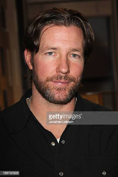 Actor Edward Burns attends the Chase Sapphire VIP Event at Chase Sapphire during the 2013 Sundance Film Festival on January 18 2013 in Park City Utah