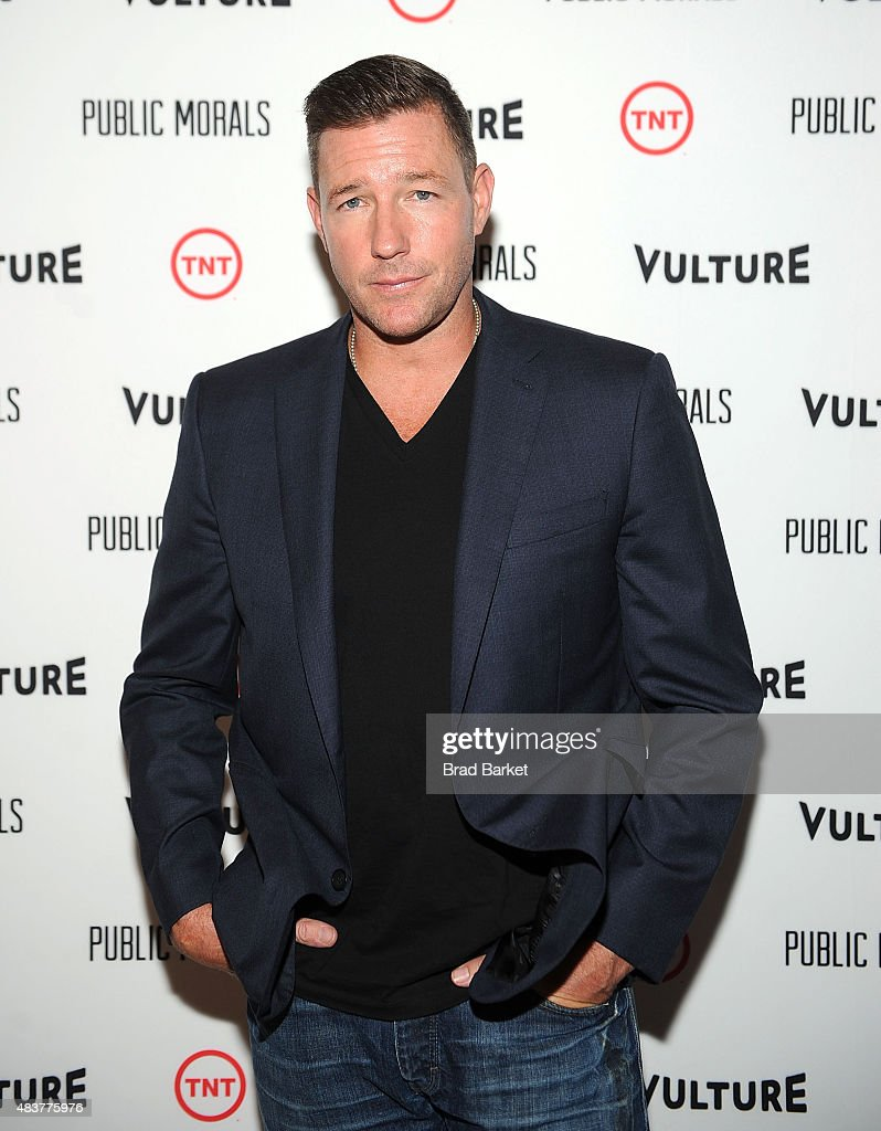 Actor Edward Burns attends The NYMag, Vulture + TNT Celebrate the Premiere of 'Public Morals' on August 12, 2015 in New York City.
