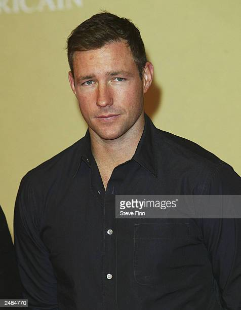 Actor Edward Burns attends the photocall for Confidence at the 29th American Film Festival of Deauville on September 11 2003 in Deauville France