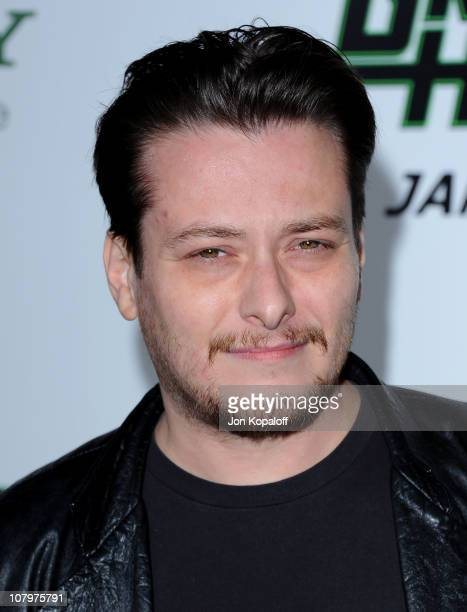 Actor Edward Furlong arrives at the Los Angeles Premiere The Green Hornet at Grauman's Chinese Theatre on January 10 2011 in Hollywood California