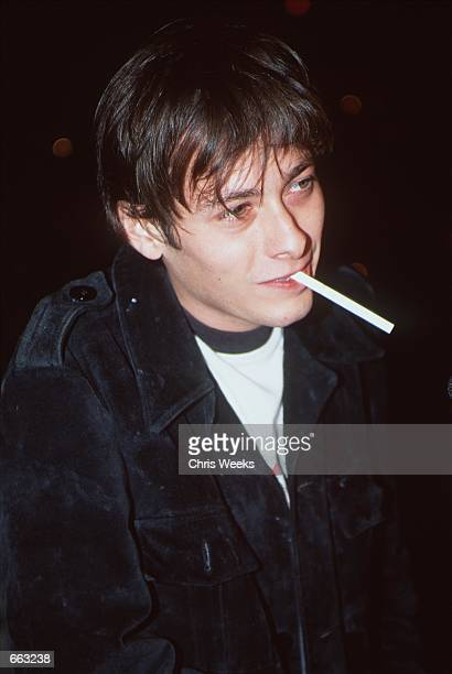 Actor Edward Furlong arrives at the release party for Limp Bizkit's new album Chocolate Starfish Hot Dog Flavored Water September 28 2000 at the...