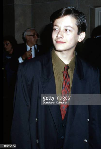 Actor Edward Furlong attends an event in 1992 in Los Angeles California