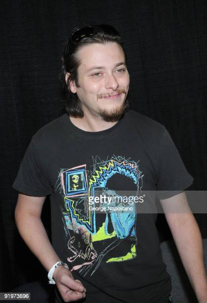 Actor Edward Furlong attends day 2 of the 2009 Big Apple Comic Con at Pier 94 on October 17 2009 in New York City