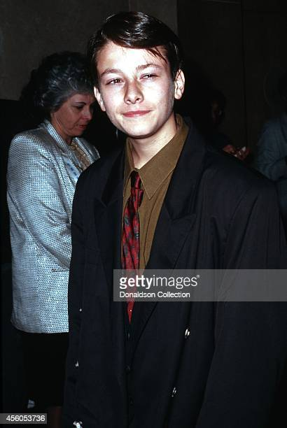 Actor Edward Furlong attends the 51st Annual Golden Apple Awards on December 8 1991 in Los Angeles California
