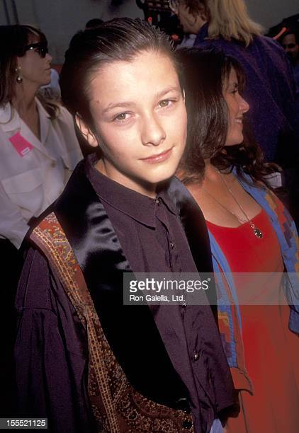 Actor Edward Furlong attends the Bill & Ted's Bogus Journey Hollywood Premiere on July 11, 1991at Mann's Chinese Theatre in Hollywood, California.