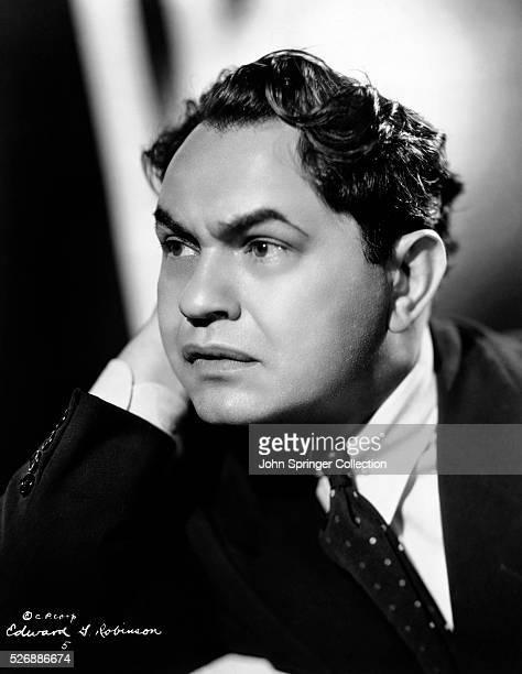 Actor Edward G Robinson