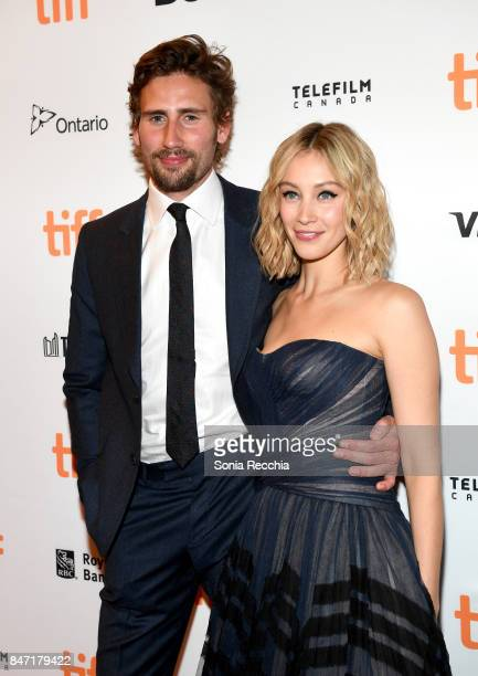 Actor Edward Holcroft and actress Sarah Gadon attend The World Premiere of the Limited Series Alias Grace starring Sarah Gadon from Sarah Polley...