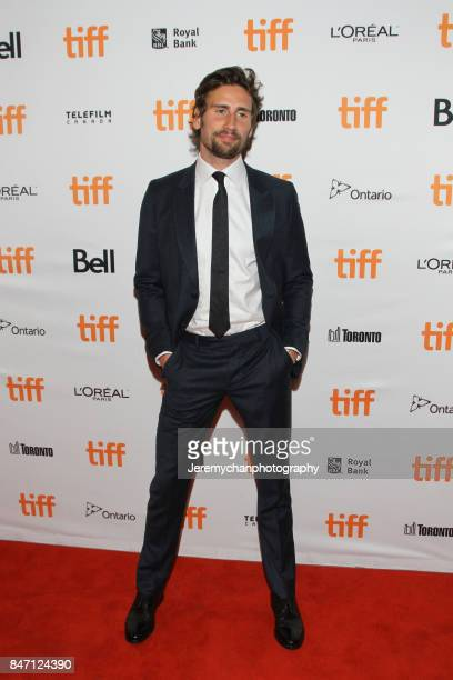 """Actor Edward Holcroft attends the """"Alias Grace"""" Premiere held at Winter Garden Theatre during the 2017 Toronto International Film Festival on..."""