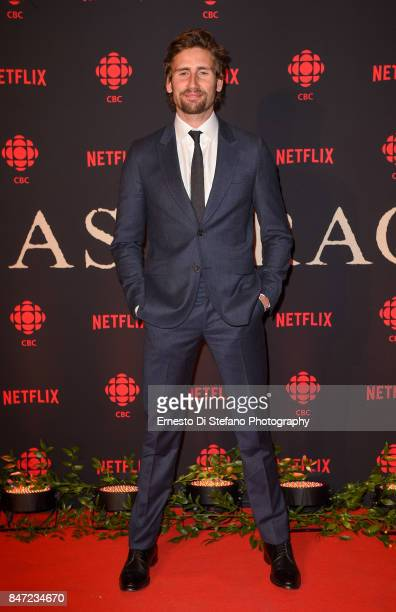 Actor Edward Holcroft attends the 'Alias Grace' TIFF World Premiere Cocktail Reception at Drake OneFifty on September 14 2017 in Toronto Canada