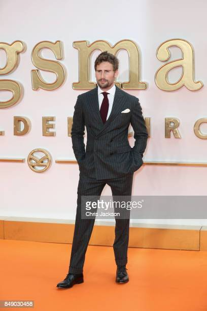 Actor Edward Holcroft attends the 'Kingsman: The Golden Circle' World Premiere held at Odeon Leicester Square on September 18, 2017 in London,...